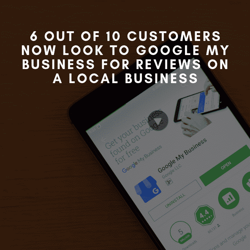 6 out of 10 users go to google my business page
