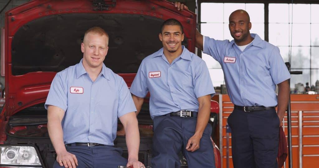auto shop mechanics