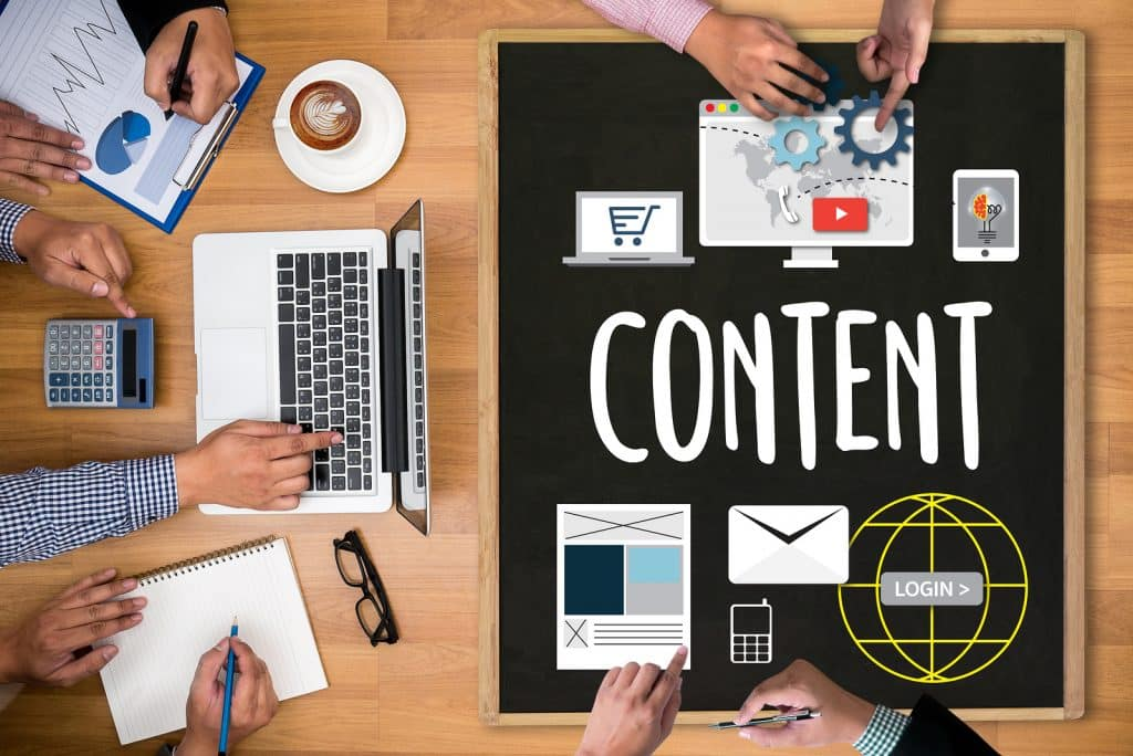 Content marketing online
