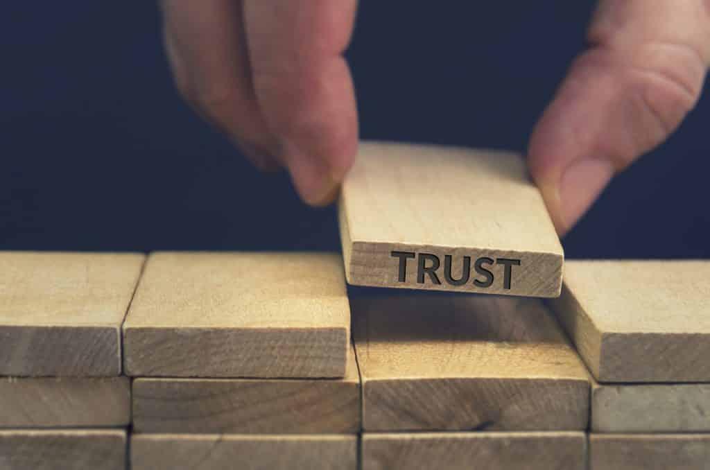 Building trust business