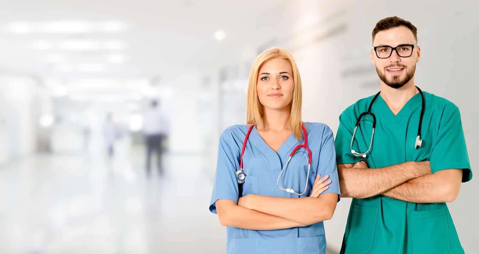 Doctors at hospital
