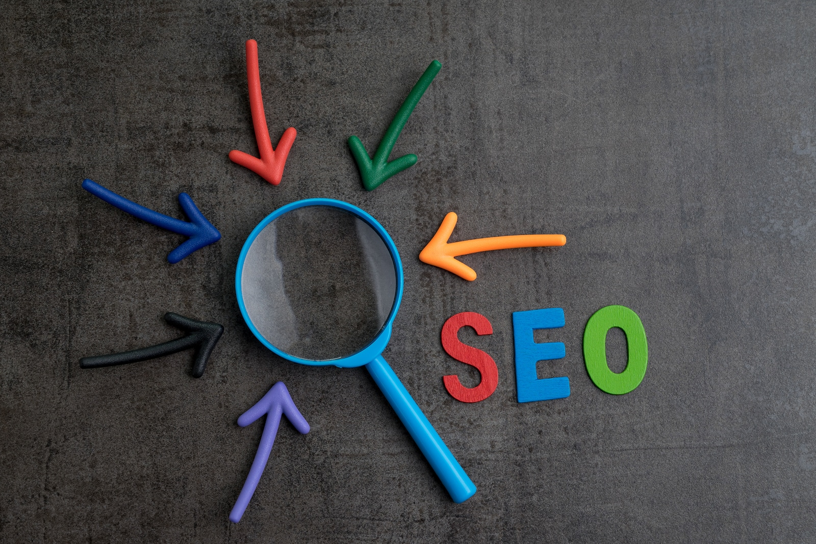 SEO, Search Engine Optimization ranking concept