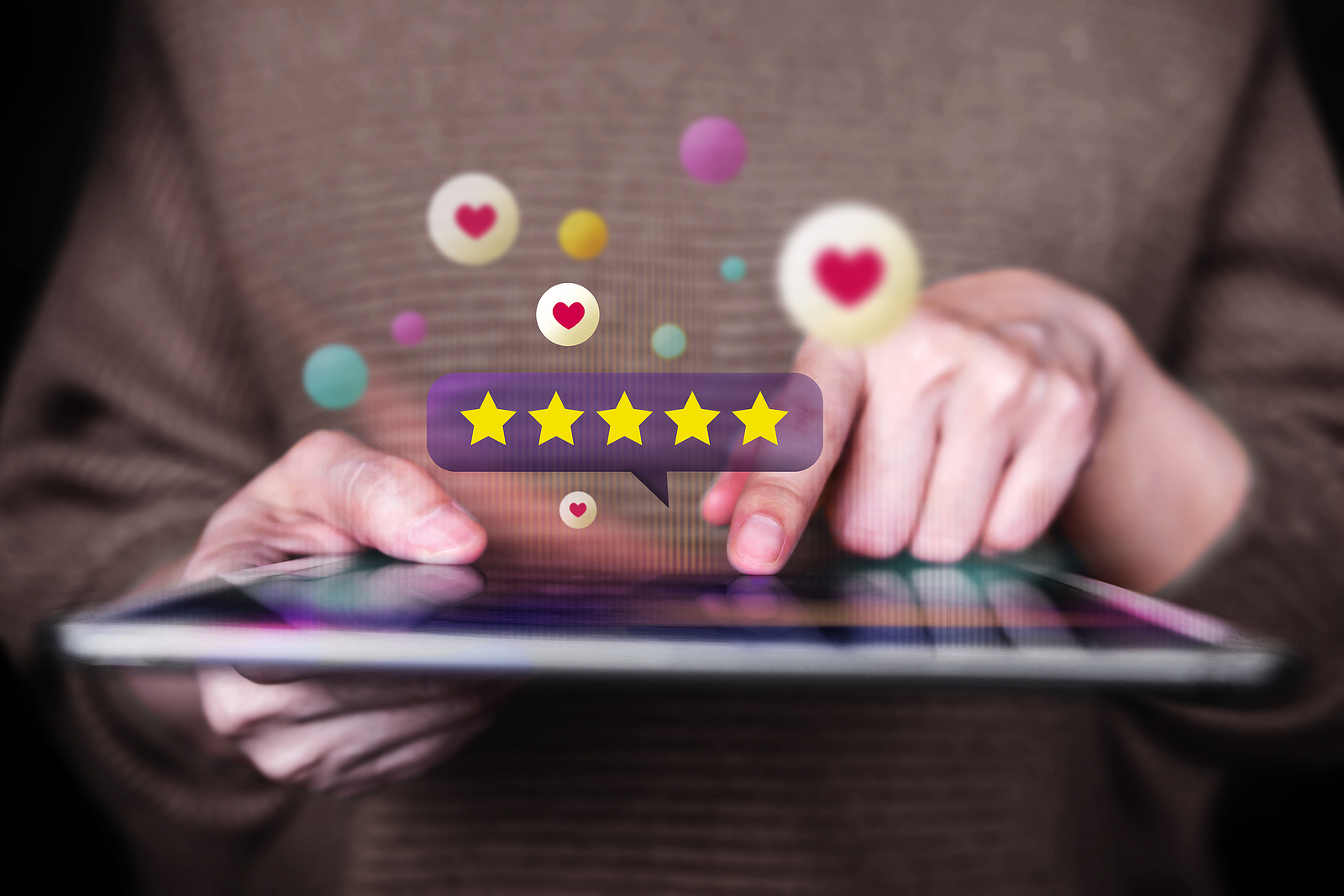 Positive reviews are good for personal reputation management